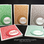 """""""In Color-ful"""" Collection of Thank You Cards"""