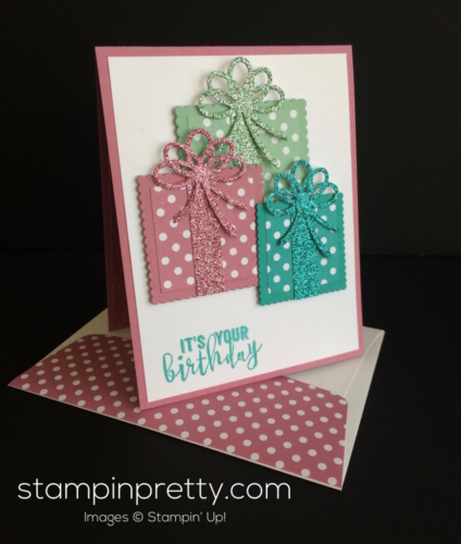 Stampin Up Balloon Adventures Birthday Crd - Mary Fish stampinup