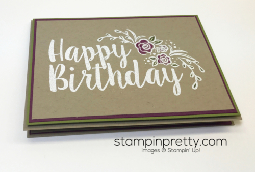 Stampin Up Big on Birthdays Birthday card ideas Mary Fish Stampinup