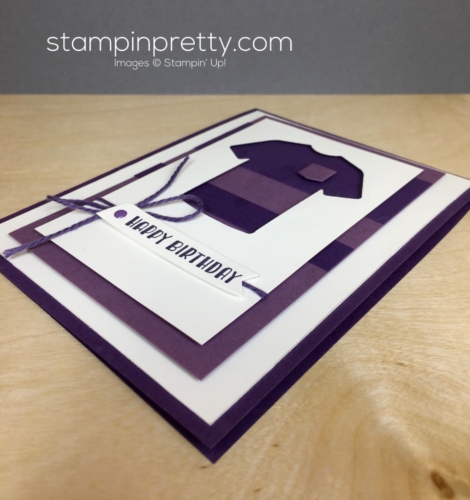 Stampin Up Custom Tee Masculine Card Ideas - Mary Fish StampinUp