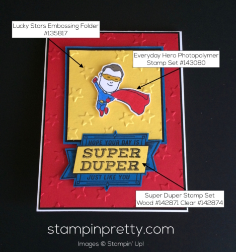Stampin Up Everyday Hero Masculine cards ideas - Mary Fish stampinup