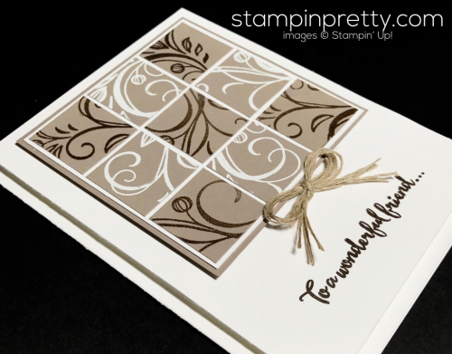 Stampin Up Falling Flowers Dragonfly Dreams Friendship card Mary Fish Stampinup