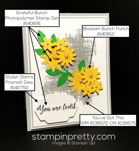 Stampin Up Grateful Bunch Inspired by Color ideas Mary Fish Stampinup