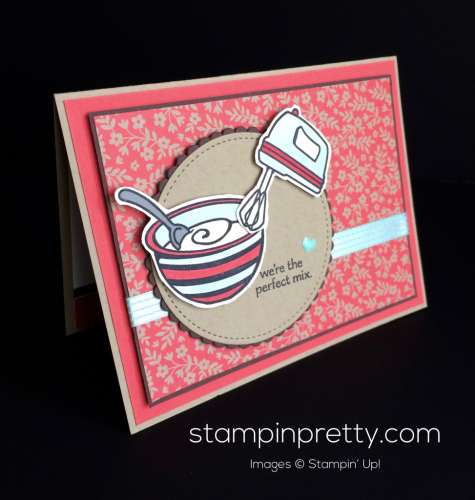 Stampin Up Perfect Mix Just Because cards idea - Mary Fish stampinup