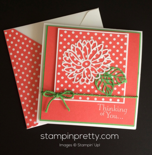 Stampin Up Stylish Stems Just Because card - Mary Fish stampin up
