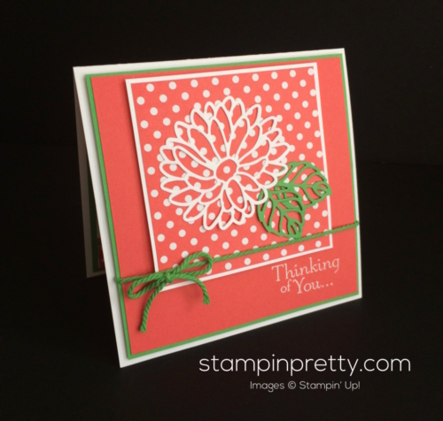 Stampin Up Stylish Stems Just Because card idea - Mary Fish stampinup
