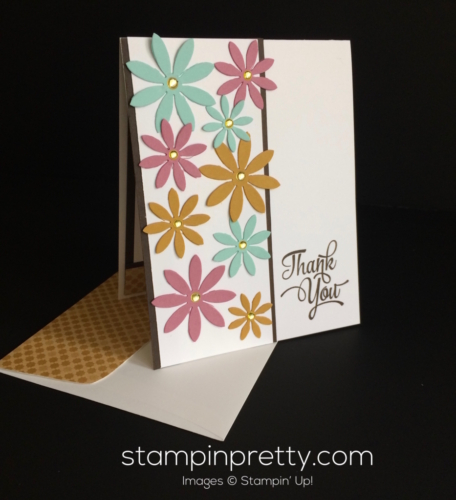 Stampin Up Succulent Thank You Card - Mary Fish stampinup