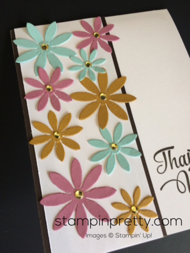 Stampin Up Succulents Thank You cards idea - Mary Fish stampinup