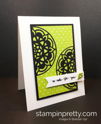 Easter Palaces Medallions Dies Thank You Note - Mary Fish StampinUp