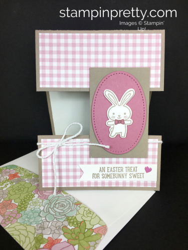 Stampin Up Basket Bunch Easter Card Idea - Mary Fish StampinUp