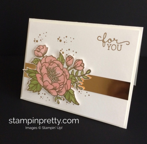 Stampin Up Birthday Bloom Birthday Card Idea - Mary Fish stampinup