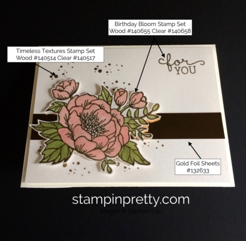 Stampin Up Birthday Bloom Birthday Card Ideas-Mary Fish stampinup
