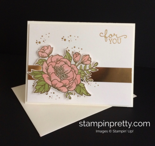 Stampin Up Birthday Bloom Birthday Card - Mary Fish stampinup
