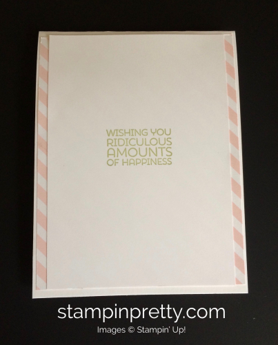 Stampin Up Botanical Blooms Birthday Card Ideas - Mary Fish stampinup