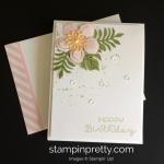 A Botanical Blooms Birthday Wish