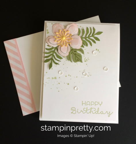 Stampin Up Botanical Blooms Birthday Cards Ideas - Mary Fish stampinup