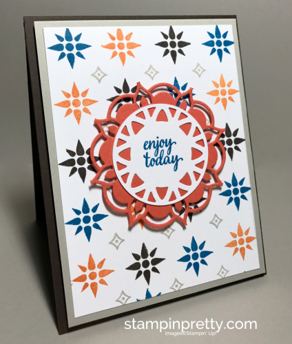 Stampin Up Eastern Beauty Bundle Inspired by Color Mary Fish Stampinup