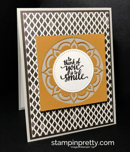 Stampin Up Eastern Beauty Bundle Moroccan DSP Stitched Framelits Mary Fish Stampinup