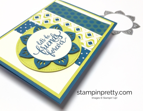 Stampin Up Eastern Palace Medallions friendship card idea - Mary Fish StampinUp