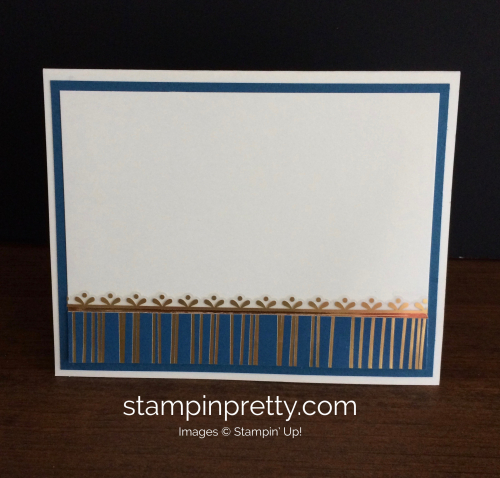 Stampin Up Eastern Palace Thank You Card Ideas - Mary Fish stampinup