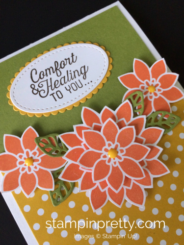 Stampin Up Flourishing Phrases Get Well Card Idea - Mary Fish stampinup