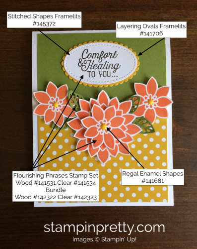 Stampin Up Flourishing Phrases Get Well Card Ideas - Mary Fish stampinup