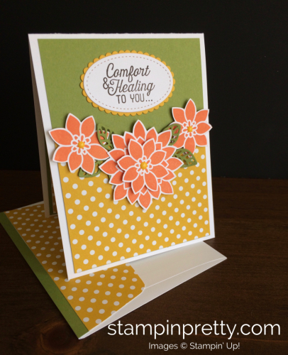 Stampin Up Flourishing Phrases Get Well Card - Mary Fish stampinup