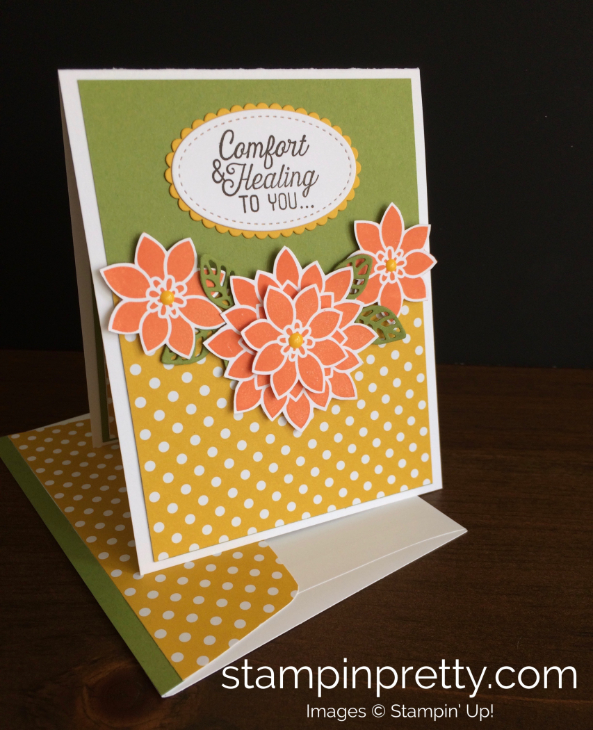 Inspired by color get well card stampin pretty stampin up flourishing phrases get well card mary fish stampinup m4hsunfo