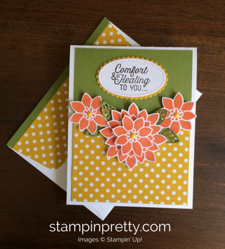 Stampin Up Flourishing Phrases Get Well Cards Idea - Mary Fish stampinup