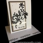 Beautiful Wedding Card with a Flourish!