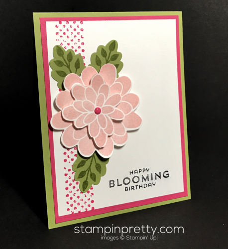 Stampin Up Flower Patch Inspired by Color Mary Fish Stampinup