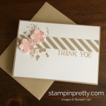 Quick Thank You Note Card Trio