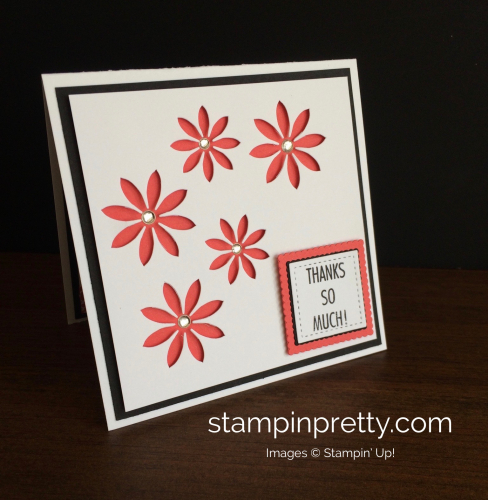 Stampin Up Succulents Thank You Card Idea - Mary Fish stampinup