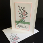 Simple & Pretty Touches of Texture Sympathy Card