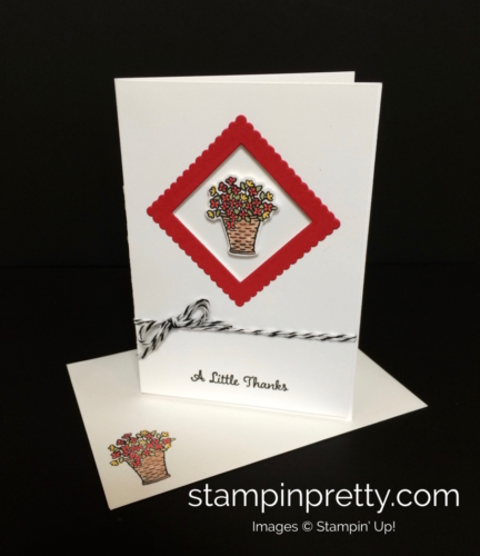Stampin Up At Home With You Thank You - Mary Fish stampinup