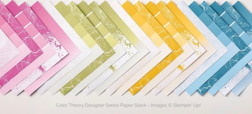 Stampin Up Color Theory Designer Series Paper Stack - Mary Fish stampinup