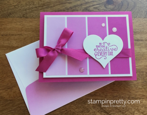 Stampin Up Crafting Forever Friendship Card Ideas - Mary Fish StampinUp