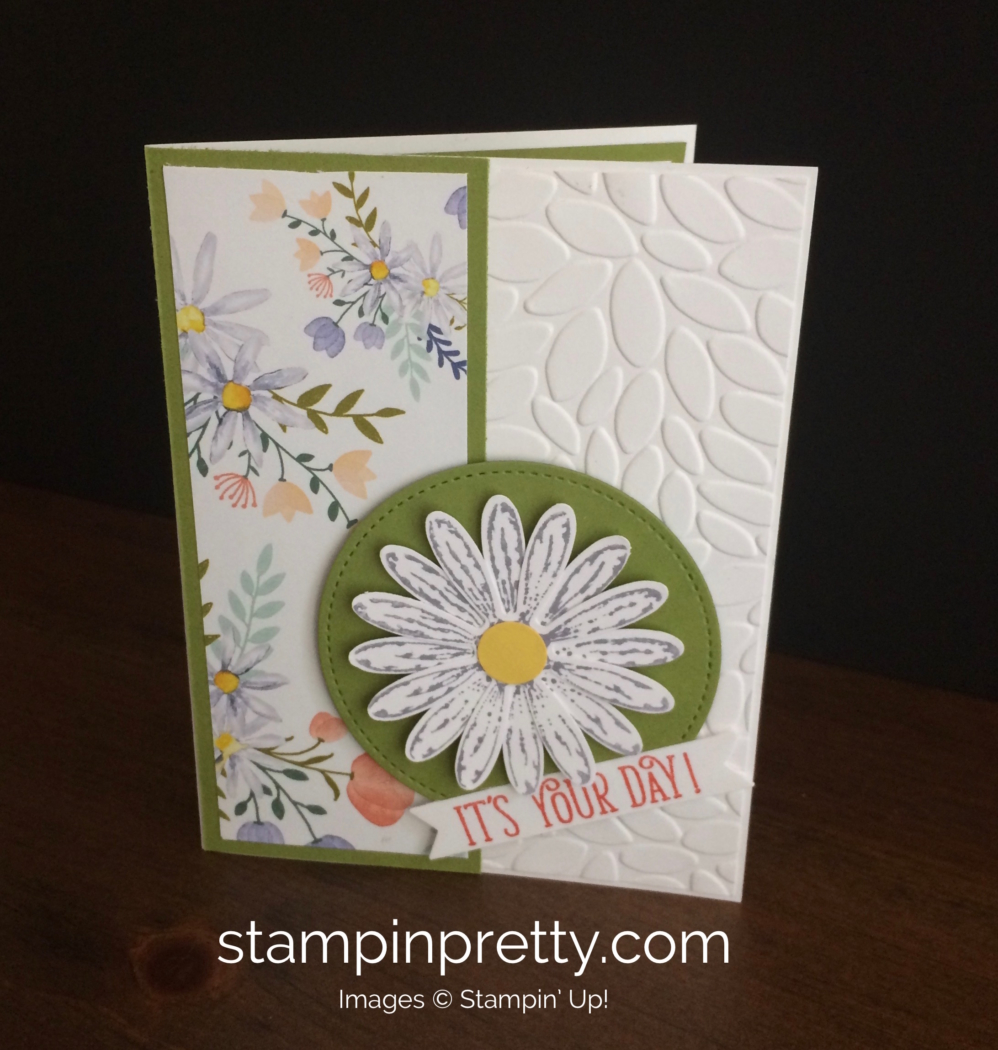 Celebrate the return of the daisy punch stampin 39 pretty for Mary fish stampin up