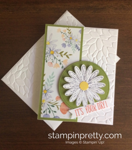 Stampin Up Daisy Delight Birthday Card - Mary Fish stampinup
