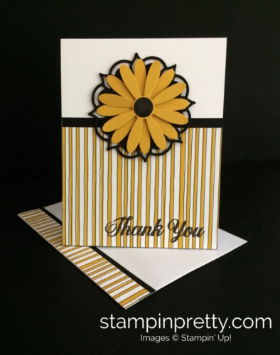 Stampin Up Daisy Delight Thank You Card - Mary Fish stampinup