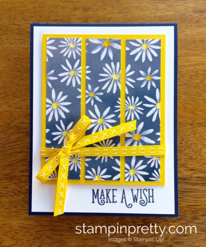 Stampin Up Delightful Daisy Happy Birthday Gorgeous Card Ideas - Mary Fish StampinUp