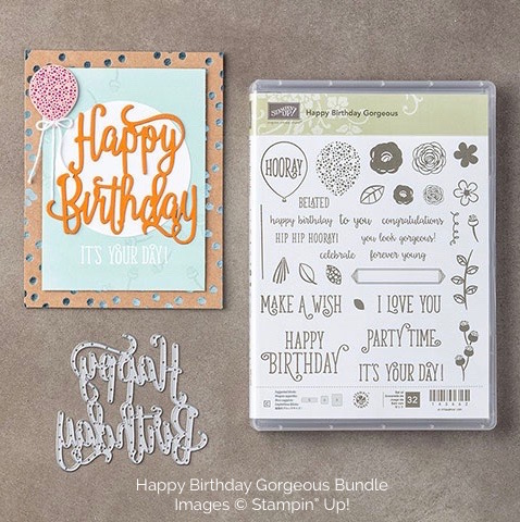 Stampin Up Happy Birthday Gorgeous Bundle - Mary Fish stampinup