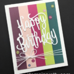 Happy Birthday Card & the NEW In Colors!