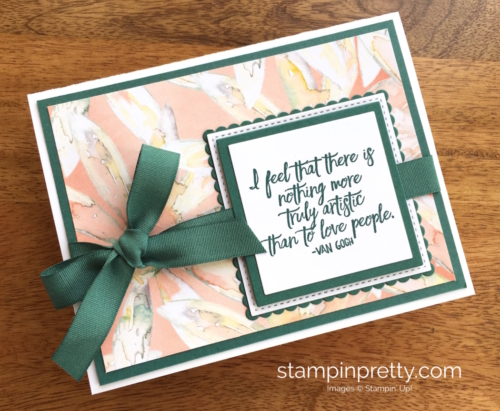 Stampin Up Just Add Text Friendship Cards Idea - Mary Fish StampinUp
