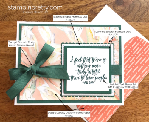 Stampin Up Just Add Text Friendship Cards Ideas - Mary Fish StampinUp