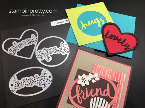 Stampin Up Lovely Words - Mary Fish www.stampinpretty.com