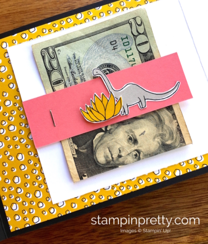 Stampin Up! Pieces & Patterns Dinosaur Juvenile Birthday Cards Ideas - Mary Fish StampinUp