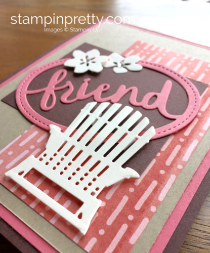 Stampin Up Seasonal Layers & Lovely Layers Thinlits Dies Friend Cards Idea - Mary Fish StampinUp