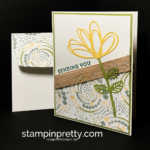 Delightful Daisy Designer Series Paper Makes Simple a Snap!