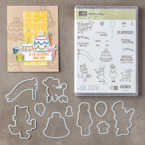 Birthday Delivery Bundle #145294 - Images © Stampin' Up!